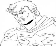 Printable superhero captain america 121 coloring pages
