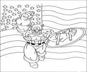superhero captain america 23 coloring pages