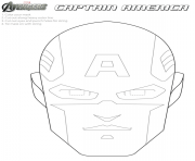 Printable superhero captain america 374 coloring pages