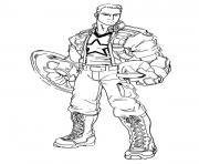 Printable superhero captain america 82 coloring pages