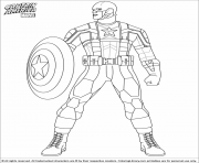 Printable superhero captain america 39 coloring pages