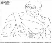 superhero captain america 294 coloring pages