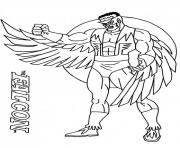 Printable captain america 18 coloring pages