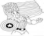 Printable superhero captain america 100 coloring pages