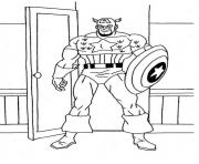 superhero captain america 295 coloring pages