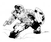 Printable superhero captain america 388 coloring pages