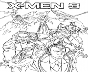 Print printable s x men 3ee33 coloring pages