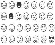 emoji list coloring pages