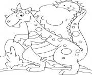 dinosaur 365 coloring pages