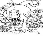 Printable dinosaur 16 coloring pages