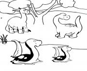 Print dinosaur 383 coloring pages