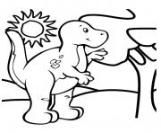 Print dinosaur 230 coloring pages
