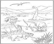 Printable dinosaur 36 coloring pages