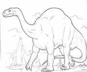 Printable plateosaurus s dinosaurs167f coloring pages