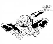 Printable ultimate spiderman coloring pages