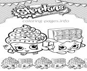 Printable shopkins cupcake queen cheeky chocolate love coloring pages