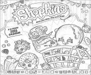 Printable shopkins calendar 2016 coloring pages