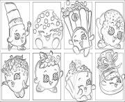 Printable shopkins list coloring pages