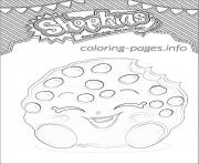 Printable shopkins kooky cookie shoppies coloring pages