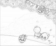Printable shopkins world background coloring pages