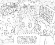Printable shopkins episode 5 coloring pages