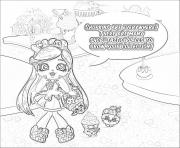 Printable shopkins everywhere sketch coloring pages