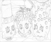 shopkins toys print coloring pages