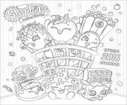 Wishing Well shopkins season 5 coloring pages
