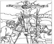 good friday 9 coloring pages