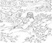 Printable good friday 1 jesus pray in the garden of gethsemane coloring pages