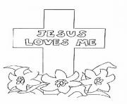 Printable good friday kids coloring pages