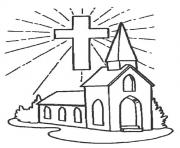 good friday 3 coloring pages