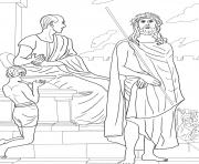 good friday 1 first station jesus is condemned to death by gebhard fugel coloring pages