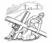 Print good friday 16 coloring pages