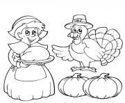 Printable printable thanksgiving s children835d coloring pages