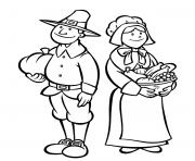Printable printable thanksgiving s pilgrimsc506 coloring pages