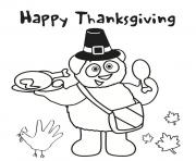 peanuts thanksgiving day snoopy Coloring pages Printable