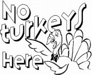 no turkey here thanksgiving s free printable082f coloring pages