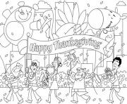 Printable printable thanksgiving celebration20ad coloring pages