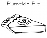 thanksgiving s pumpkin pie1721 coloring pages