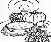 thanksgiving  mealdd1f coloring pages