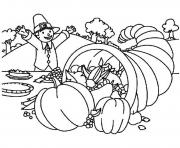 cornucopia free s printable thanksgivingfcd0 coloring pages