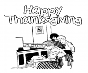 Printable happy thanksgiving s children4d46 coloring pages