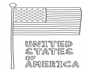kids and american flag bb0e coloring pages
