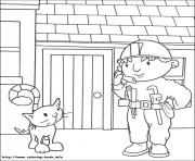 Print Bob the builder 06 coloring pages