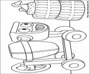 Print Bob the builder 16 coloring pages