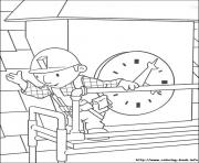 Print Bob the builder 08 coloring pages