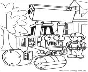 Print Bob the builder 66 coloring pages