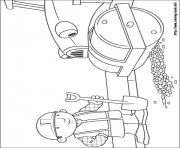 Print Bob the builder 28 coloring pages