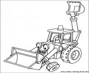 Print Bob the builder 52 coloring pages